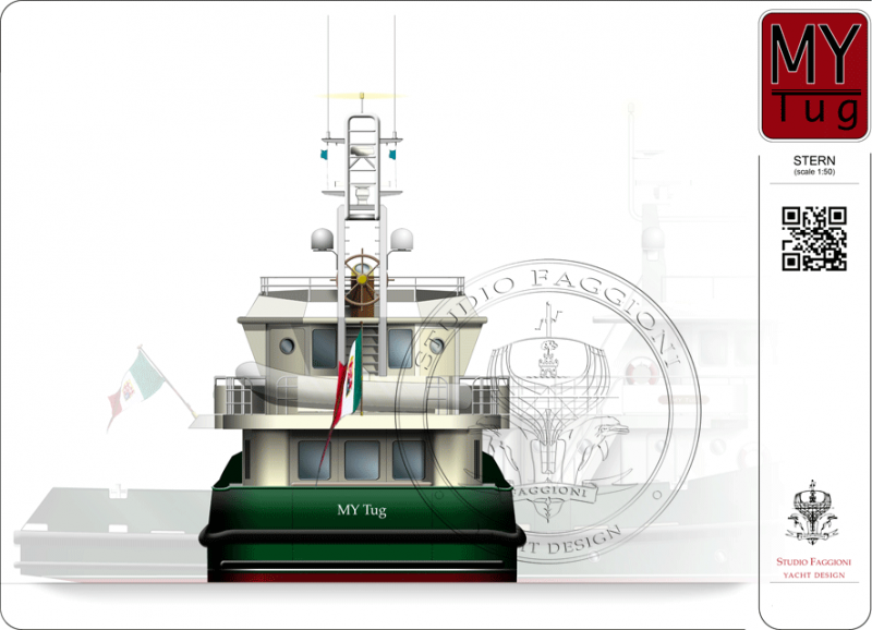 Front view-Stern